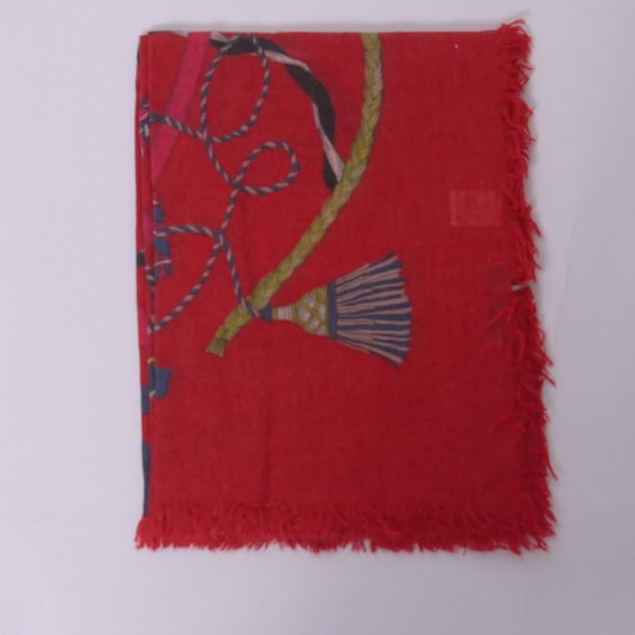 Codello sciarpa fondo rosso 82076824