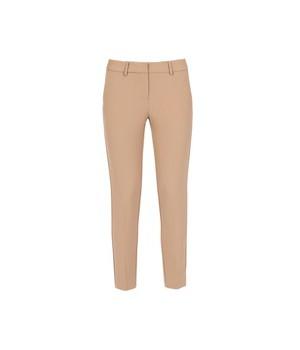 A21CPPA027 Simona Corsellini pantalone stretch cammello