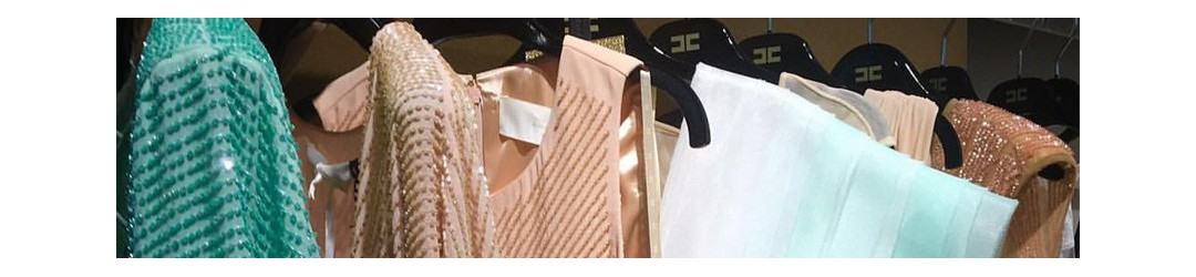 Abbigliamento firmato Elisabetta Franchi, Atos Lombardini, Nenette